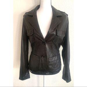 Skotts Italian Leather jacket size medium size M
